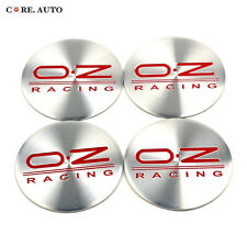 50mm ×4 O.Z Racing Logo Car Suv Wheel Center Sticker Badge Emblem