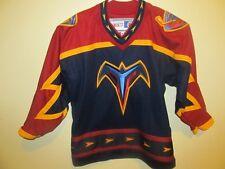 CCM 1999 Atlanta Thrashers road jersey , Youth large / X-large