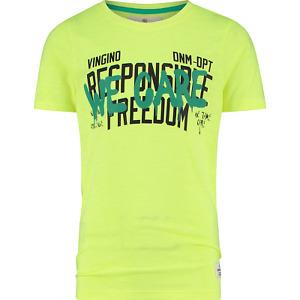 Vingino Boys T-Shirt Hax fresh neon yellow NEU F/S 2021 Gr.152 / 12 Y