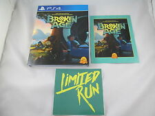 Broken Age PS4 PlayStation 4 Limited Run game #60 new sealed, global shipping
