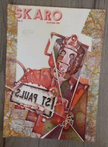 Skaro Issue 4 Autumn 1991 Doctor Who Fanzine