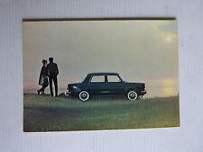 carte postale pour un essais SIMCA 1000