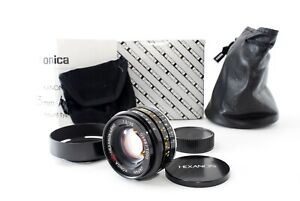[UNUSED] Konica UC-HEXANON Black 35mm F/2 L39 LTM Mount from Japan #OS8