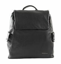 MANDARINA DUCK Mellow Leather Backpack Schwarz Tasche Rucksack Nero