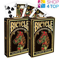 2 DECKS BICYCLE WARRIOR HORSE PLAYING CARDS CHINESE NEW YEAR LIMITED EDITION