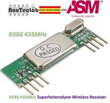 RXB6 433MHz Superheterodyne Wireless Receiver Module RXB6
