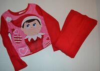 Elf on A Shelf Girls Flannel Sleepwear Set Size 4-5 NWT