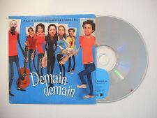 JP NATAF, MATHIEU BOOGAERTS & BOMBES 2 BAL : DEMAIN DEMAIN ♦ CD SINGLE ♦