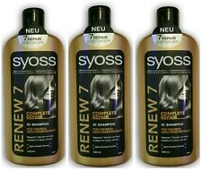 Syoss Renew 7 Complete Repair Shampoo 3x500ml
