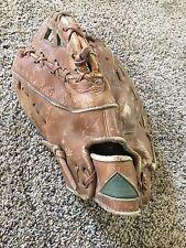Vintage Trio Hollander First Base Man's Glove Mitt Yankee Clipper 34-29 Lefty