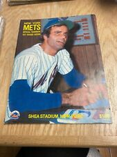 1977 New York Mets Official Yearbook Revised Edition