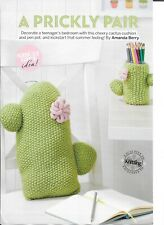 KNITTING PATTERN FOR A CACTI CUSHION