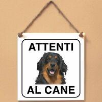 Hovawart 2 Attenti al cane Targa cane cartello ceramic tiles