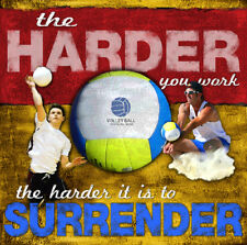 Youth Volleyball WORK HARDER Motivational Inspirational Poster Print
