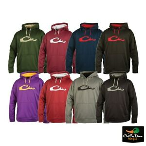 NEW DRAKE WATERFOWL SYSTEMS PERFORMANCE HOODIE PULLOVER - HOODED SWEATSHIRT -