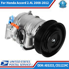 A/C AC Compressor AEG333 Fit for Honda Accord 2.4L 2008 2009 2010 2011 2012 US