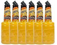 6 Pack Finest Call 1 Liter Premium Passion Fruit Puree Mix Mixer WEB Sweetener