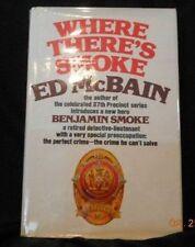 Ed McBain - WHERE THERE'S SMOKE - 1ST