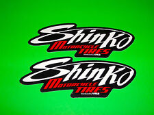 SHINKO SPORT BIKE SCOOTER OFFROAD STREET ATV MOTORCYCLE MOTOCROSS TIRES STICKERS