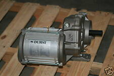 Durst Helical Gearmotors 40:1 or 50:1 Ratio, 3/4hp, 480v