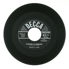 ERNEST TUBB Fortunes In Memories/So Many Times 7IN VG++