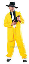 FANCY DRESS COSTUME ~ 1920'S DLX ZOOT SUIT YELLOW MED