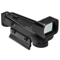 Black Tactical Reflex sight Red Dot Sight Scope Wide View 11mm Weaver Rail Mount