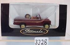 Brekina Starmada 1/87 Nr.13751 Land Rover 109 dunkelrot OVP  #3228