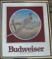 Pheasant - Budweiser Beer Mirror