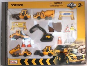 Volvo Construction Heavy Machinery Toys Die-cast Model Toys CHOOSE A VEHICLE
