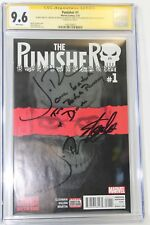 Punisher #1 CGC 9.6 SS Signed Stan Lee & Inscribed Jon Bernthal One Batch Penny