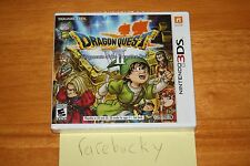 Dragon Quest VII: Fragments of the Forgotten Past (Nintendo 3DS) NEW SEALED MINT