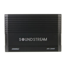 NEW Soundstream AR1.2500D 2500 Watts Mono Class D Subwoofer Amplifier BASS AMP