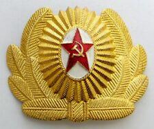 Soviet Russian Army Officer Visor Cap Hat Badge Cockade Original USSR 6x4.5cm