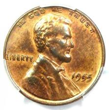 1955 Doubled Die Obverse Lincoln Cent 1C DDO - Certified PCGS AU Details - Rare!
