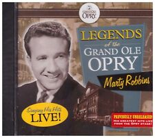 MARTY ROBBINS - Legends of the Grand Ole Opry - BRAND NEW -  CD