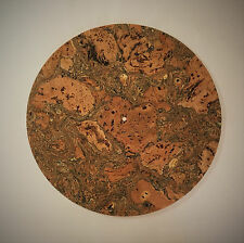 Kashmir Cork Turntable Mat (FLAT) - Audiophile Mat for Vinyl Record LP's