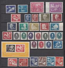 DDR, Jahrgang 1950, postfrisch