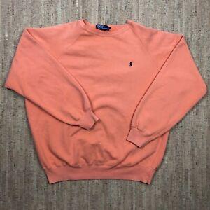 Vintage Polo Ralph Lauren 90's Pullover Crewneck Sweatshirt L