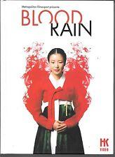 COFFRET 2 DVD ZONE 2 + LIVRE--BLOOD RAIN--KIM DAE SEUNG