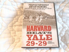 HARVARD BEATS YALE 29-29 DVD NEW COLLEGE FOOTBALL TOMMY LEE JONES 1960'S AMERICA