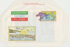 ITALIA AEROGRAMMA AEROGRAMME 500 LIRE 1/7/1983 2°TRASVOLATA ATLANTICA- NUOVO A20