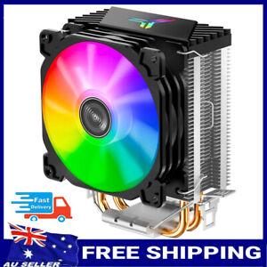RGB LED CPU Cooler Fan Heatsink for Intel LGA 775/1150/1151/1155/1156 AMD AM4/AM