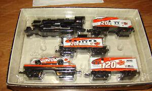 #20 Tony Stewart H.O. Scale Discast Train Set (Revel, Mac Tools Club) 2000, 1:64