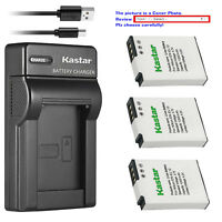 Kastar Battery Slim Charger for Nikon EN-EL12 MH-65 & Nikon Coolpix AW120 Camera