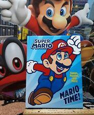 Super Mario - Mario Time(2018, Hardcover)