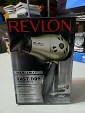 Revlon Perfect Heat 1875W Fast Dry Compact Dryer , New, Free Shipping