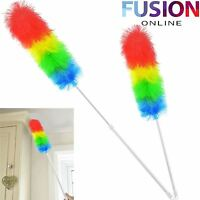 Duster Telescopic Anti Static Extendable Handle Feather Long Brush Hygienic 1.2M