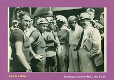 PHOTO DE PRESSE CYCLISME: TOUR DE FRANCE 1936 COUREURS & ACTEURS THÉÂTRE -I105