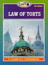 Law of Torts (Swot),Peter Clark, Graham Stephenson